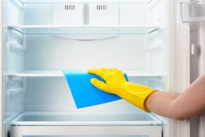 CLEANING FRIDGE KITCHEN HOME