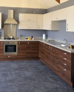 COULSDON HANSA BEIGE & OPERA WALNUT
