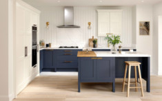 Hunton Porcelain & Hartforth Blue Kitchen