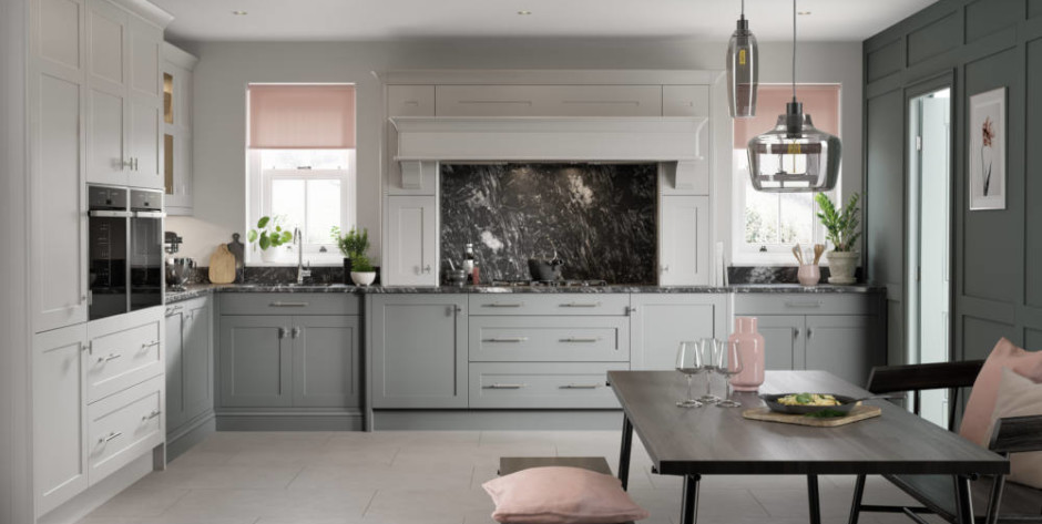 Hunton Porcelain & Hartforth Dust Grey and Dove Grey 3