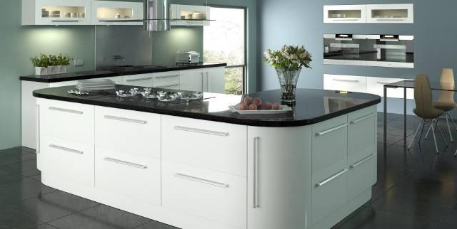 Lumi Gloss White Kitchen Image