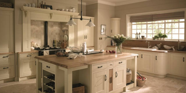 Milton Ivory timber worktop image