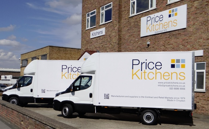 Price Kitchens Vans