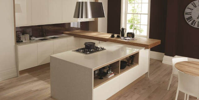 Fitted Gloss Kitchen