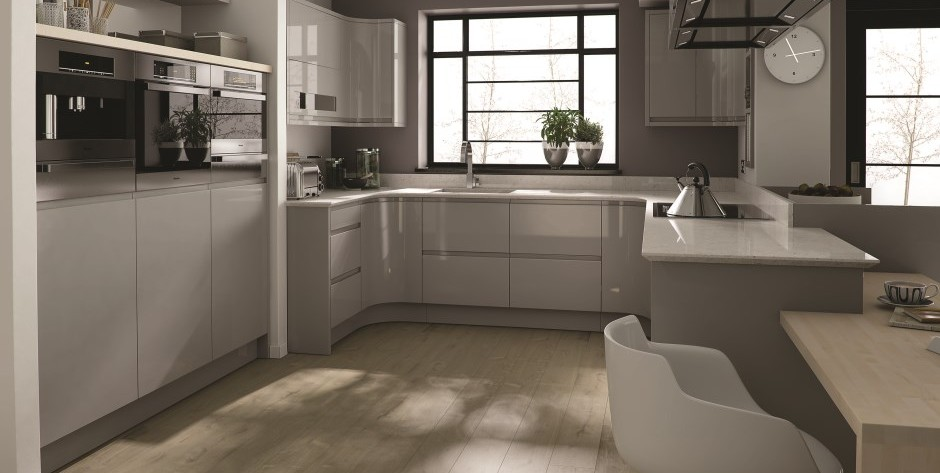 Remo Dove Grey Kitchen