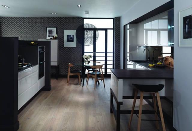 Black Kitchen Idea