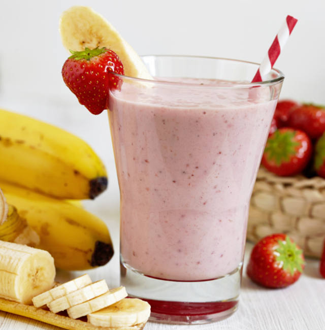 Strawberry Banana Sundae