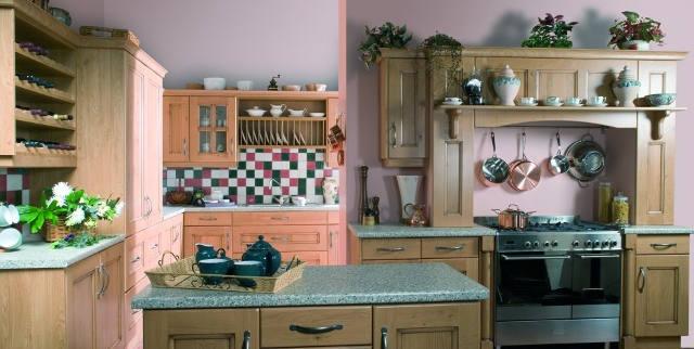 Farmhouse Style Kitchen with Range Cooker