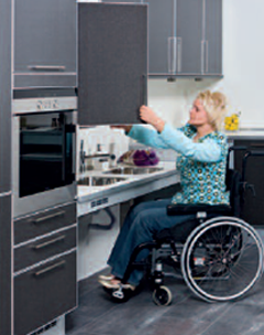 Limited Mobility Wheelchair And Disabled Access Kitchens