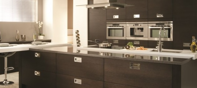 Grey and Black kitchens