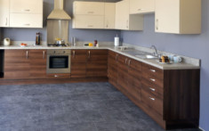 Coulsdon Hansa Beige and Opera Walnut