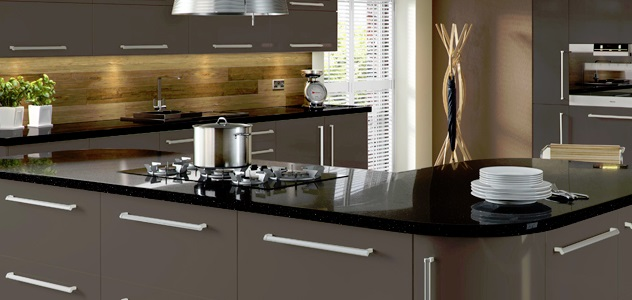 Lumi Grey Gloss Kitchen