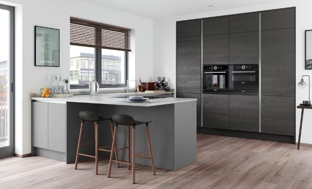 Dark Colour Palette Kitchen